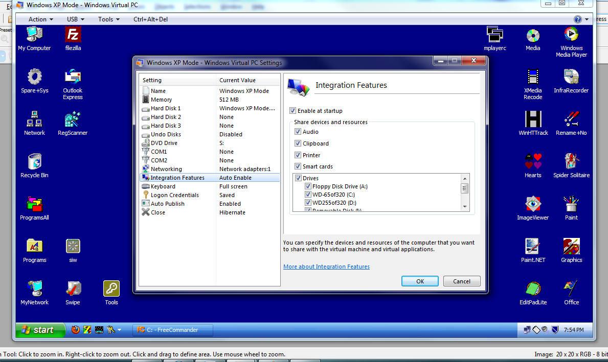how to create virtual windows xp on windows 7
